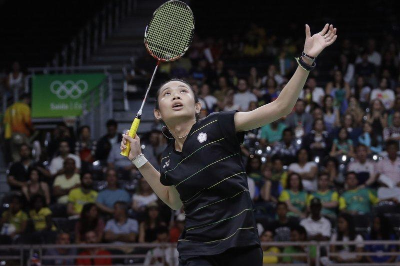 戴資穎在頂超系列馬來西亞羽球公開賽勇奪冠軍,如願擊敗勁敵馬琳。(資料照,美聯社)