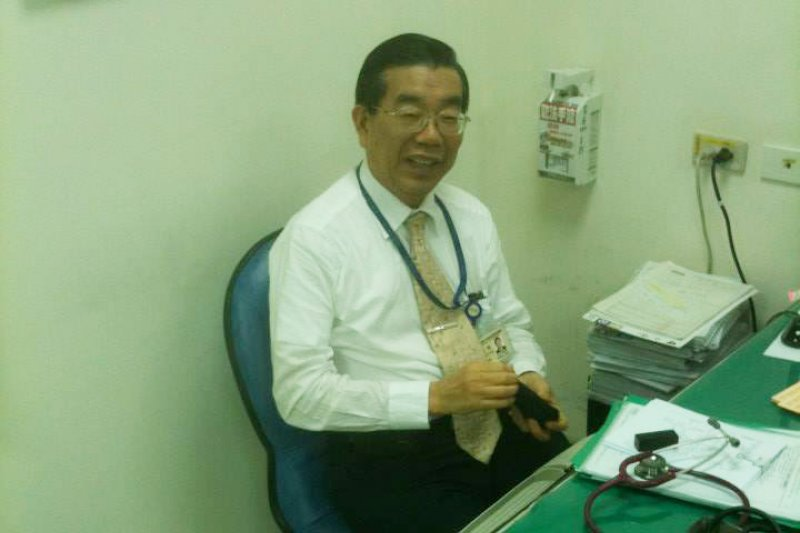 台大醫師、前衛生署副署生李龍騰。(取自李龍騰臉書)