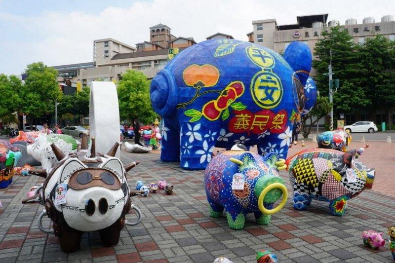義民祭3D數位模型展暨彩繪神豬裝置展,將於新竹縣政府文化局縣史館展出。(圖/新竹縣政府提供)