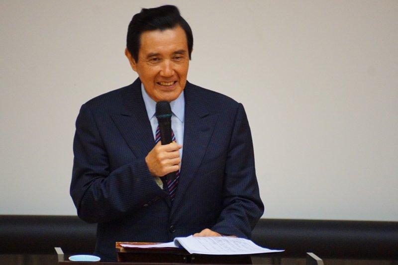 前總統馬英九出席2016哈佛台灣英文領導營開幕式 盧逸峰攝