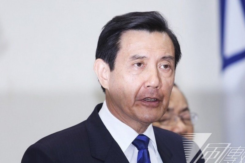 馬英九辭黨主席。