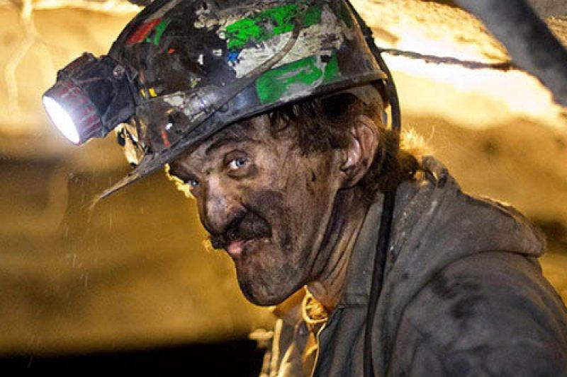 西維吉尼亞州的煤礦工人法洛(Dennis Ferrell)(美聯社)