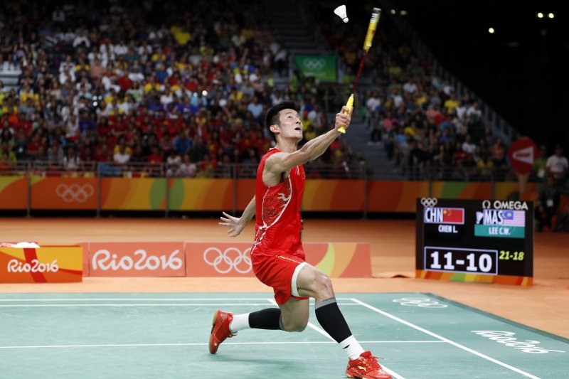 中國球王諶龍勇奪里約奧運羽球男單金牌(AP)
