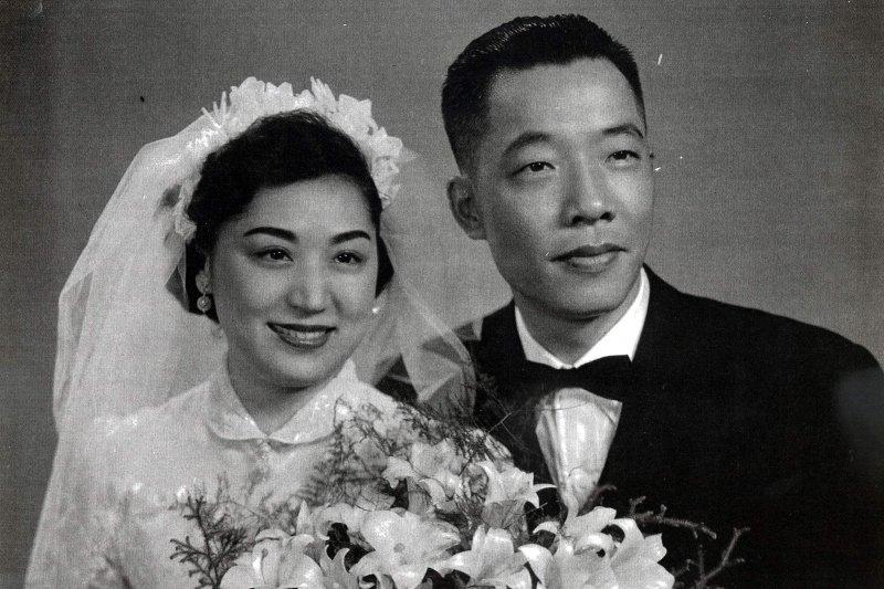 顧正秋與任顯群結婚。(圖片取自顧正秋藝術網站)