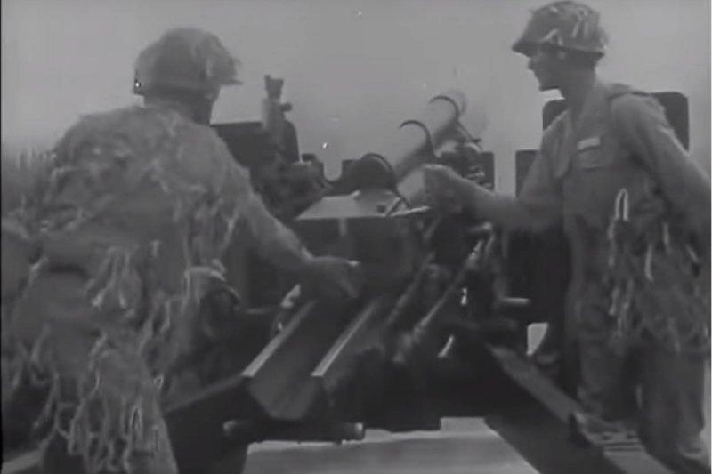 作者回憶發生在1958年的八二三砲戰戰事。(取自國防部發言人臉書)