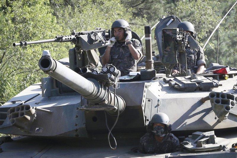 2016年南韓與美國「乙支自由衛士」(UFG)聯合軍事演習(AP)