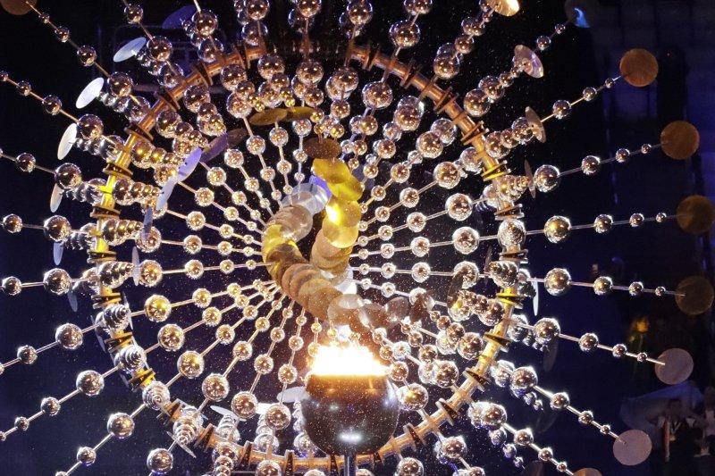 里約奧運的聖火(AP)