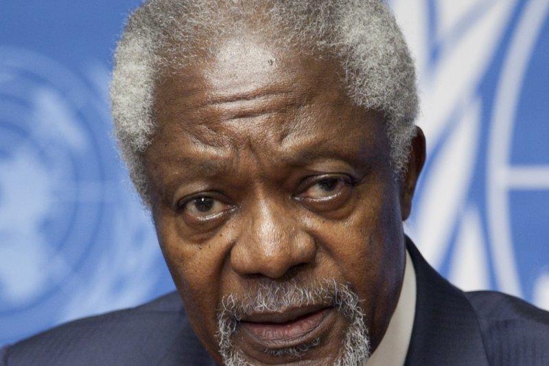 聯合國前祕書長安南(Kofi Annan)(UN)