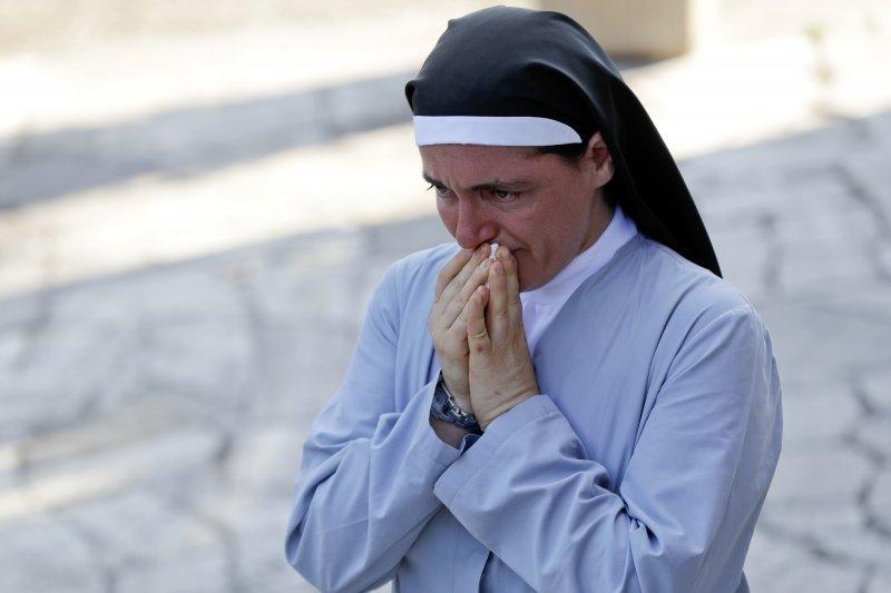 義大利中部大地震,修女瑪迦娜(Sister Marjana Lleshi)(AP)
