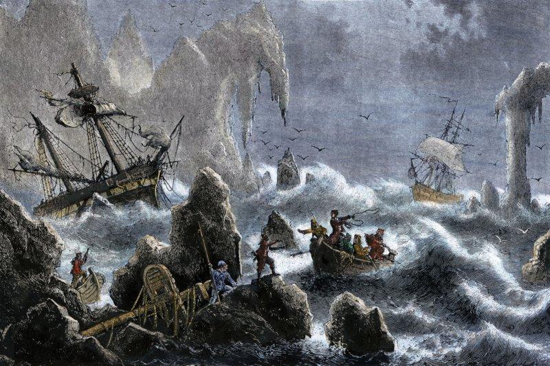 1741年8月26日,丹麥探險家白令橫渡白令海峽、抵達阿拉斯加。(維基百科)