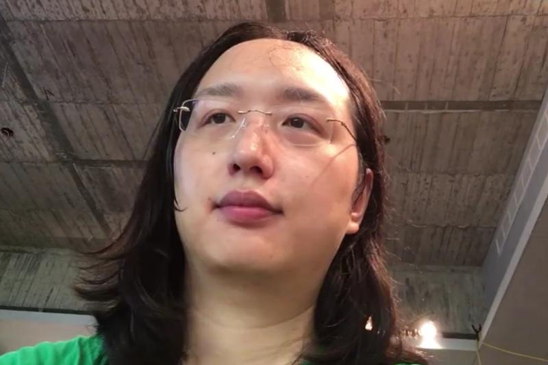 準政務委員唐鳳27日在網路針對媒體提問,證實自己的跨性別身份。(資料照,翻攝自唐鳳臉書)