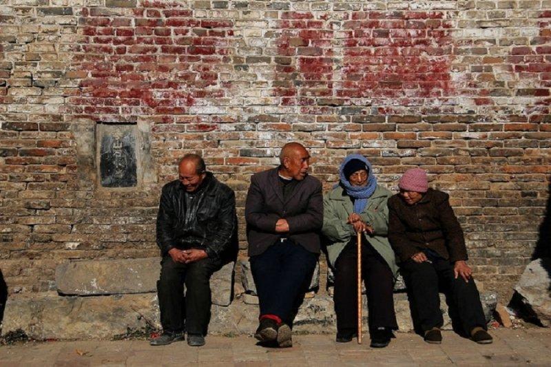 中國農村老人