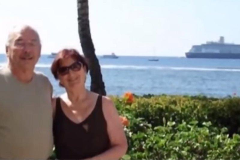 沃夫與艾妮塔數十年相愛如一日。(翻攝自Youtube)