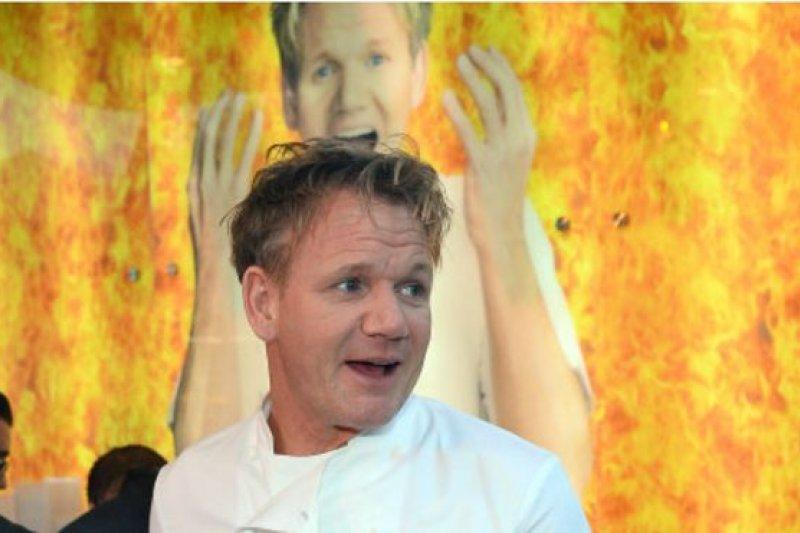 各種各樣稀奇古怪的髒話並沒有阻礙烹飪實境秀電視節目主持人戈登.拉姆齊(Gordon Ramsay)的事業(BBC中文網)