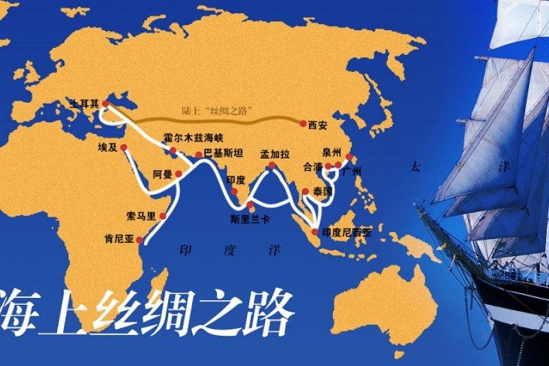 從斯里蘭卡,希臘到西班牙,中國「一帶一路」倡議中的沿線大港,經營權正一一被中資掌控(資料照,圖片來源:百度百科)
