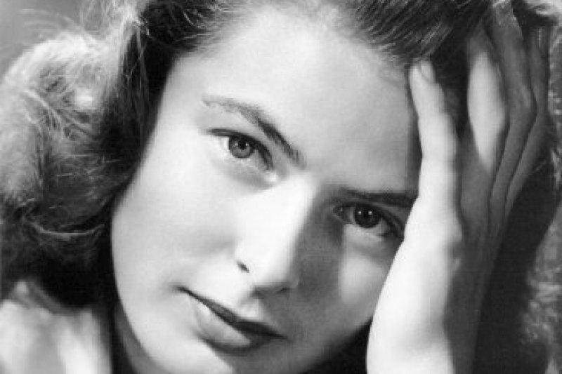 瑞典傳奇女演員英格麗褒曼(維基百科/public domain)