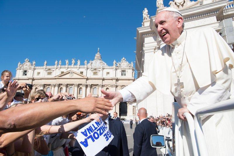 梵蒂岡是台灣在歐洲唯一的邦交國,但現任教宗方濟各(Pope Francis)積極追求與中國改善關係。(AP)