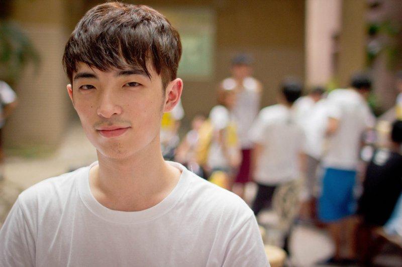 年僅24歲的古宗禎自行開發「求職天眼通」讓企業無所遁形。(古宗禎提供)