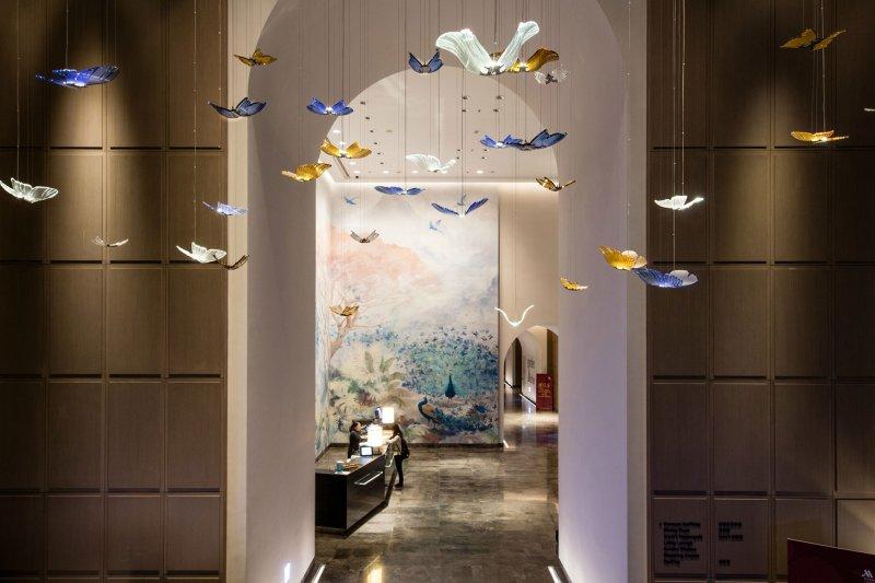 打造首都一流國際會議商務飯店,是台北萬豪酒店誕生的契機。(圖/擷取自台北萬豪酒店網站)