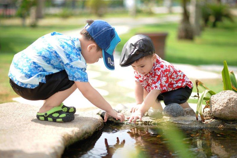 勝任感必須來自孩子本身的努力。(圖/HaiRobe@Pixabay)