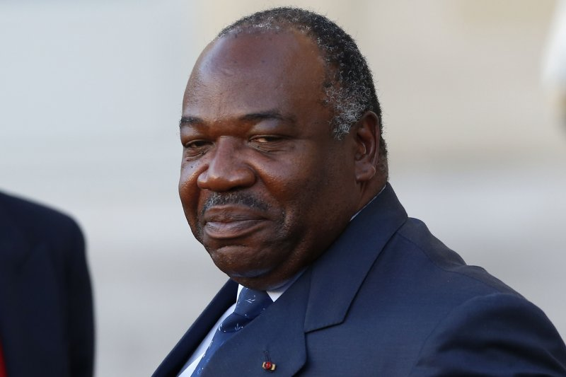 加彭總統邦戈(Ali Bongo)連任成功,但反對派質疑做票,上街示威引發暴動。(美聯社)