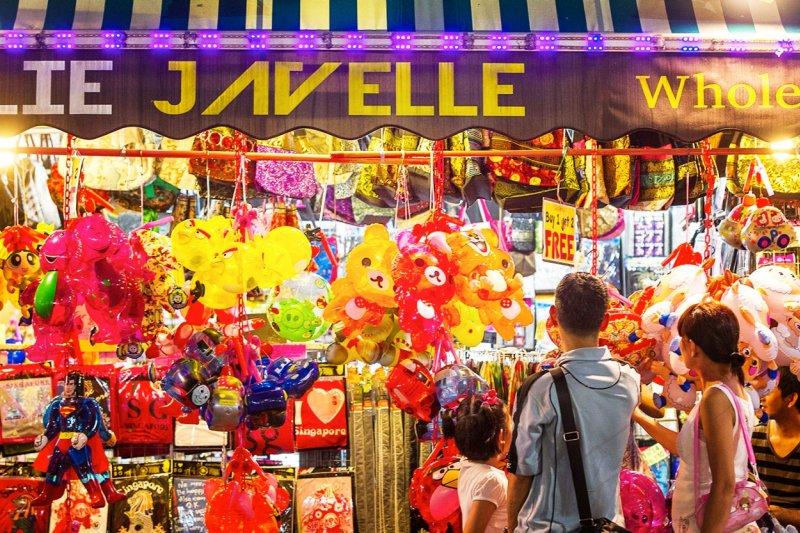 圖為新加坡中秋節氣氛最濃郁的街區牛車水(圖/新加坡旅遊局)