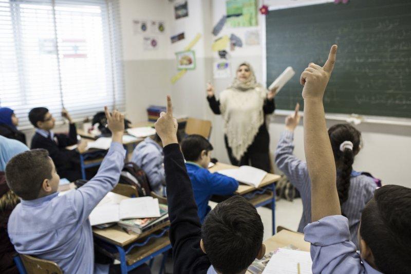 約旦(Jordan)境內仍有9萬名敘利亞難民孩童無法就學(取自DFID)