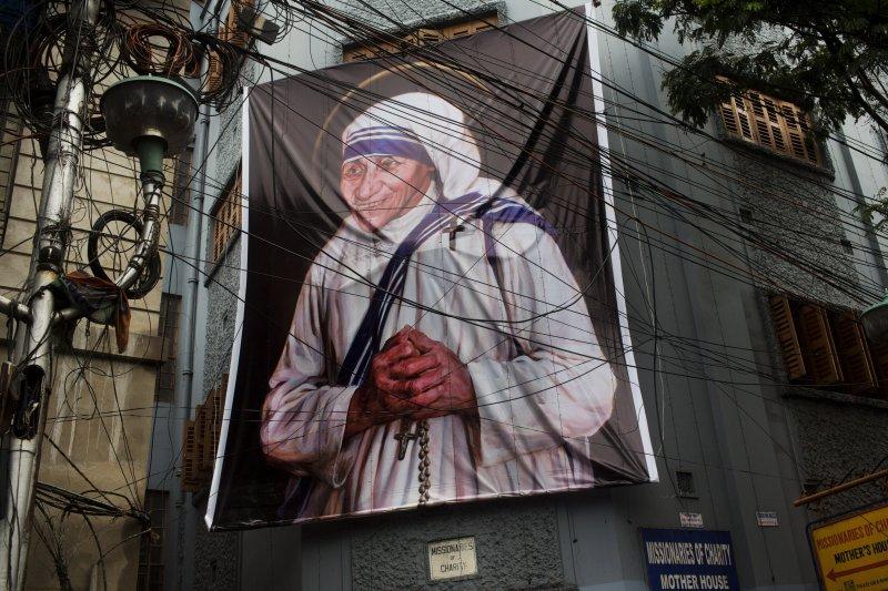 天主教廷4日舉行德蕾莎修女(Mother Teresa)封聖儀式(美聯社)
