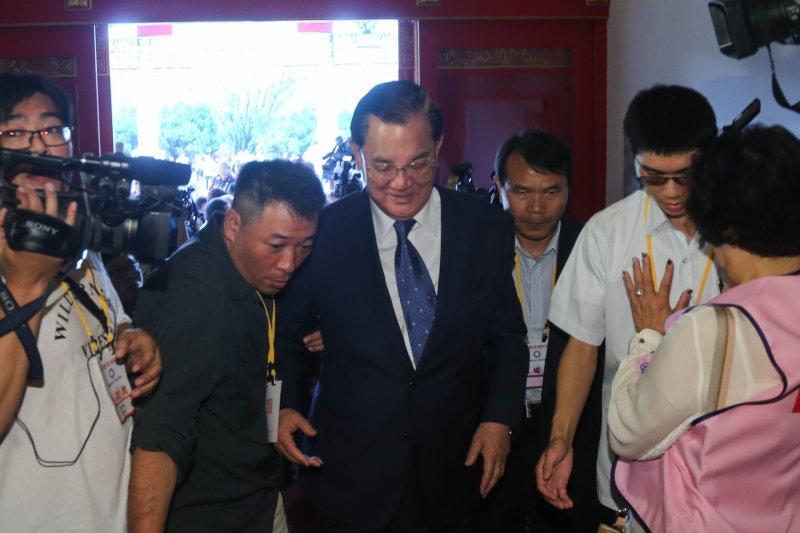 20160904-中國國民黨第19次全國代表大會.連戰(陳明仁攝)