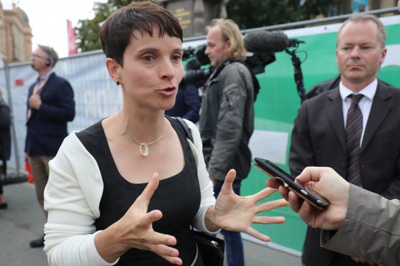 德國另類選擇黨(AfD)黨主席佩特里。(美聯社)