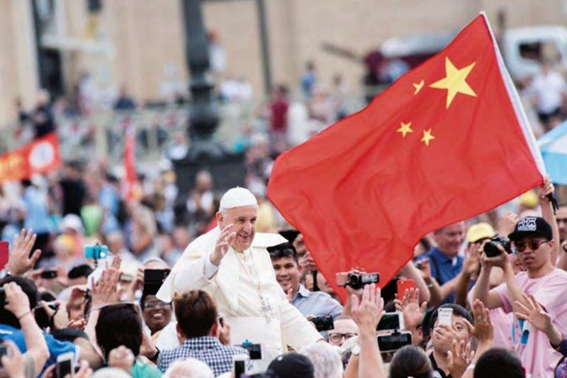我與梵蒂岡邦交壓力倍增。(Getty Images/多維提供)