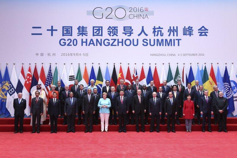 20國集團(G20)領導人杭州峰會舉行,宣告中國處於全球經濟的領導地位。(新華社)
