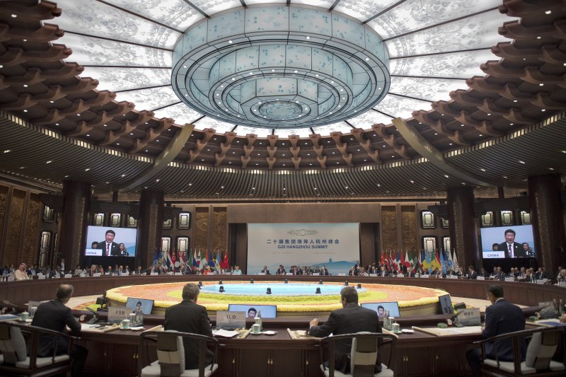 杭州G20峰會。(美聯社)