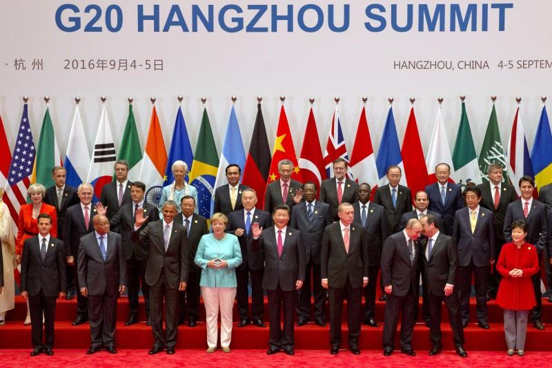 杭州G20峰會提出的「G20數位普惠金融高級原則」將形塑未來的金融科技值得重視。(資料照片,美聯社)