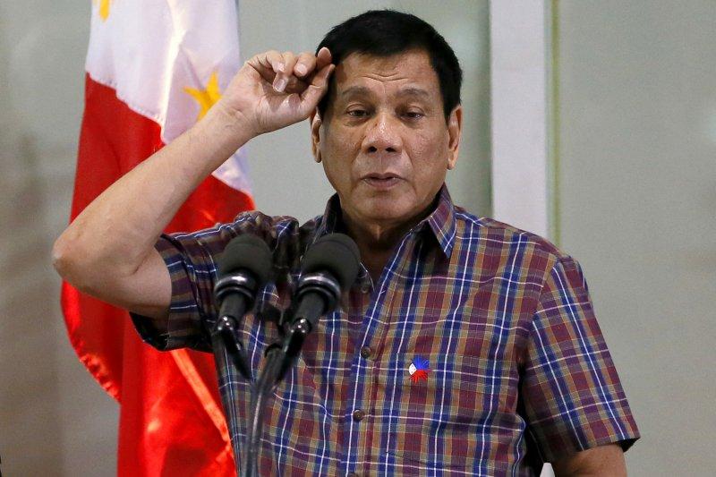 菲律賓總統杜特蒂(Rodrigo Duterte)(AP)