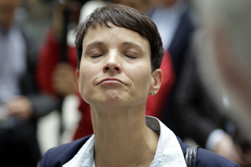 德國另類選擇黨黨主席佩特里。(美聯社)