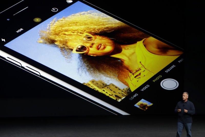 蘋果iPhone 7(美聯社)