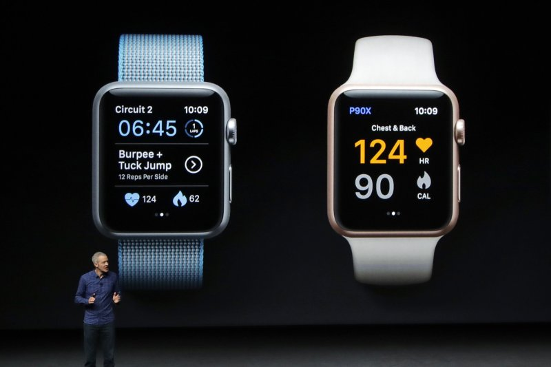 蘋果Apple Watch Series 2(美聯社)