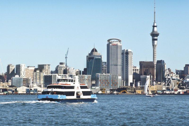 紐西蘭北島大城奧克蘭房價暴漲,躍居全球之冠。(翻攝維基百科)