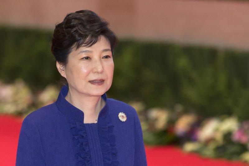 正在寮國進行訪問的南韓總統朴槿惠(AP)