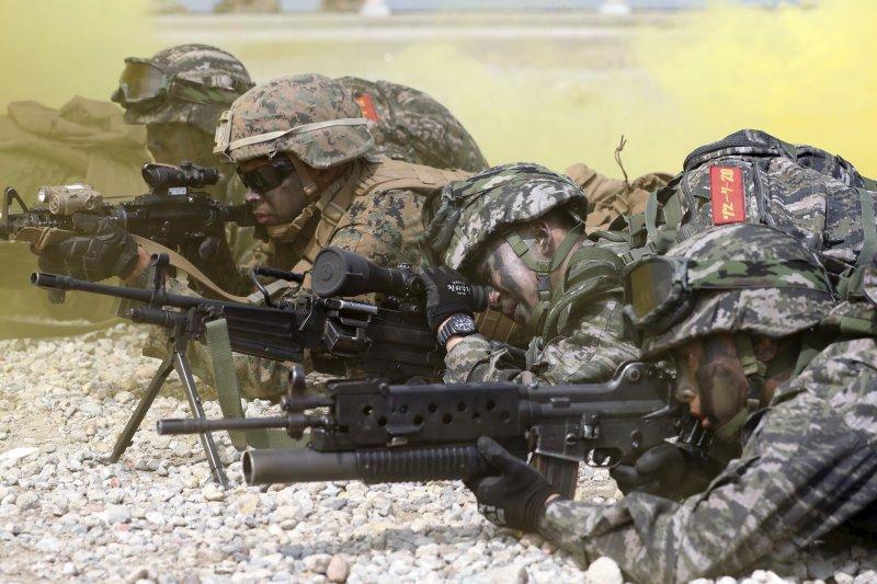 朝鮮半島局勢緊張,南韓軍方加強演訓(AP)
