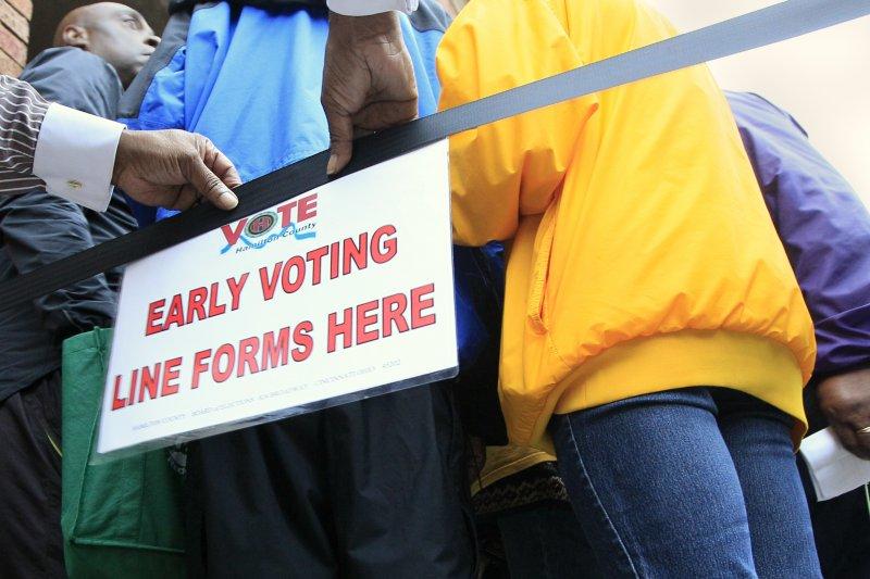 提前投票(early voting)是美國總統選舉一大特色(AP)