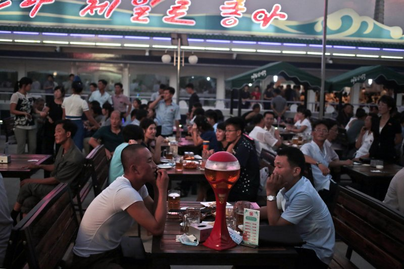 北韓8月舉辦首屆啤酒節(美聯社)