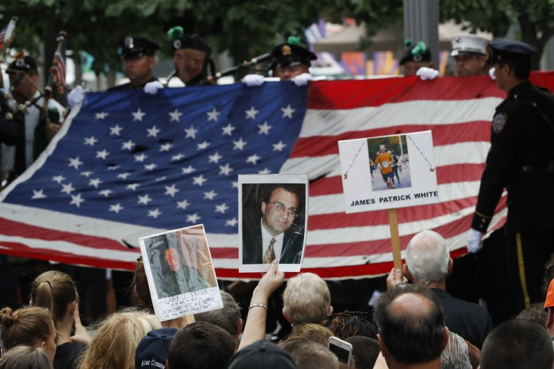 911事件15周年。(美聯社)