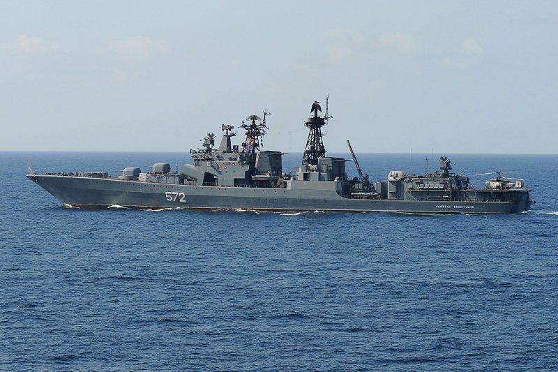 俄國海軍維諾格拉多夫上將號驅逐艦。(Wikipedia/Public Domain)