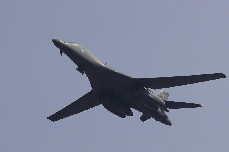 美軍B-1B匿蹤戰略轟炸機(資料照,AP)