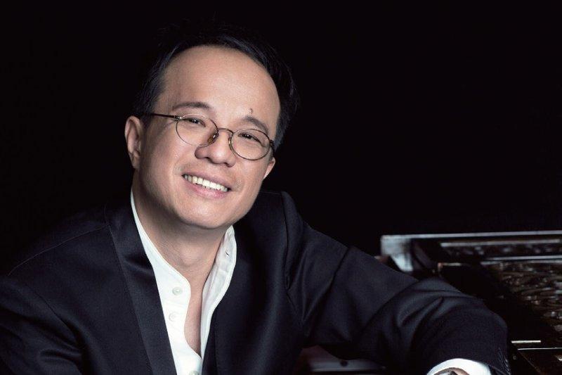 陳瑞斌奧地利華裔鋼琴家,歐洲音樂界的臺灣之光,優異的演奏技巧贏得「天使手指」稱號。(圖/陳瑞斌提供)