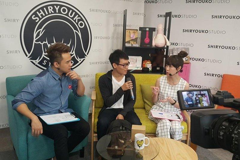 為什麼那些直播影片和短片都這麼受歡迎呢?(圖/Shiryouko Studio 詩涼子街頭實況攝影棚@facebook)