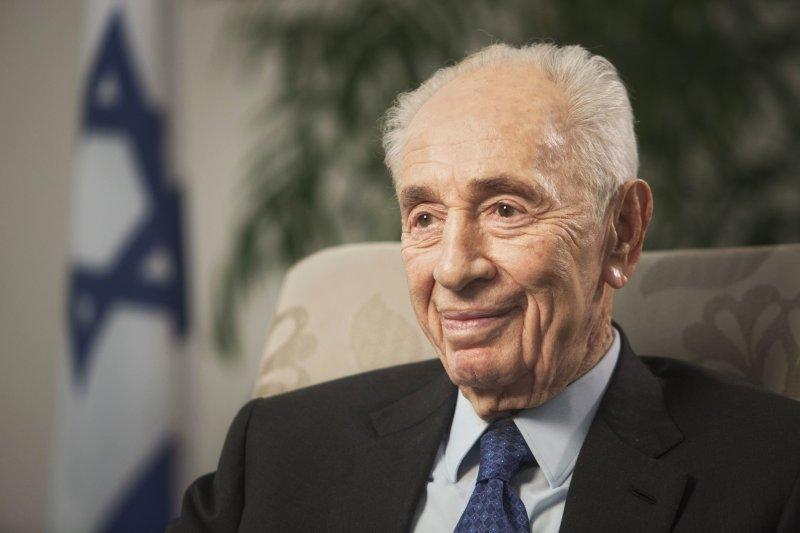 以色列前總統裴瑞斯(Shimon Peres)腦中風急送醫治療。(美聯社)