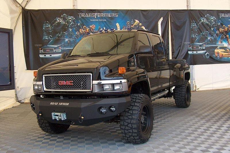 變形金剛角色鐵皮(Ironhide),通用GMC車款。(Mathewignash@Wikipedia /CC BY-SA 3.0)